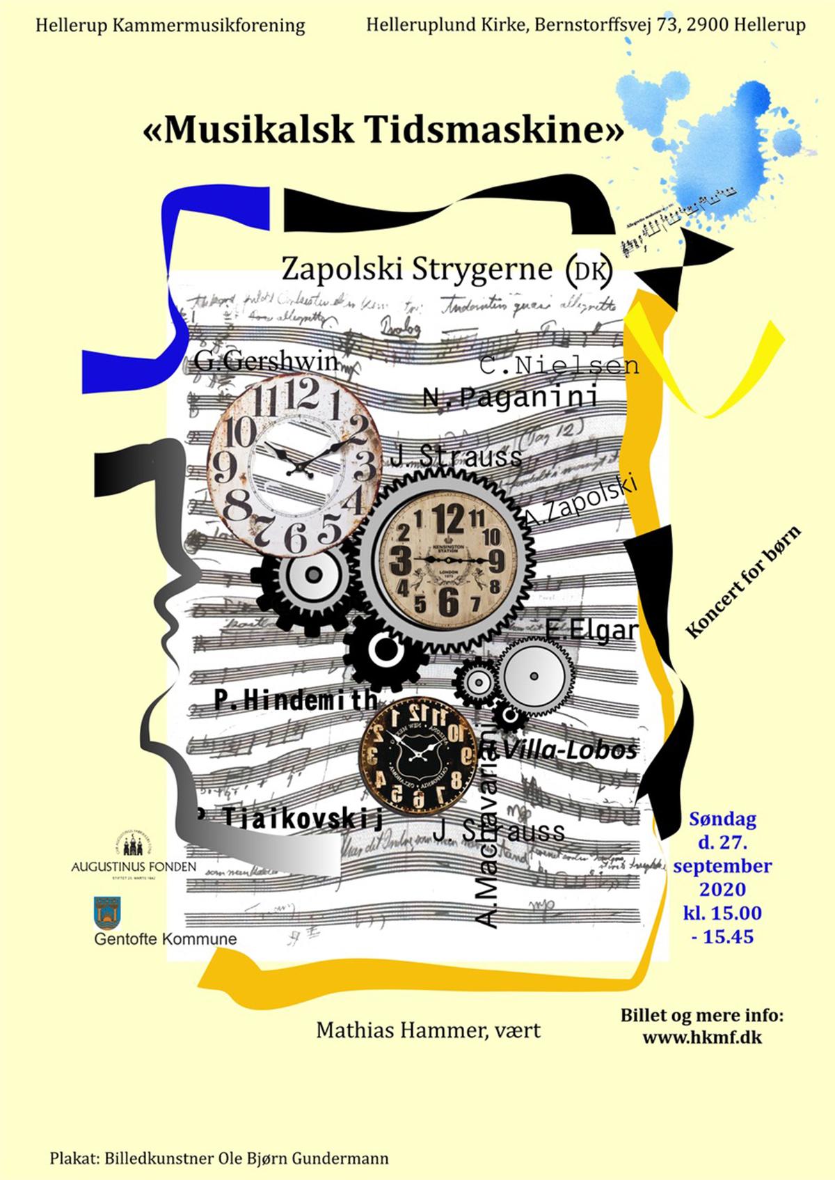 """""""Musikalsk Tidsmaskine"""" Zapolski Strygerne"""