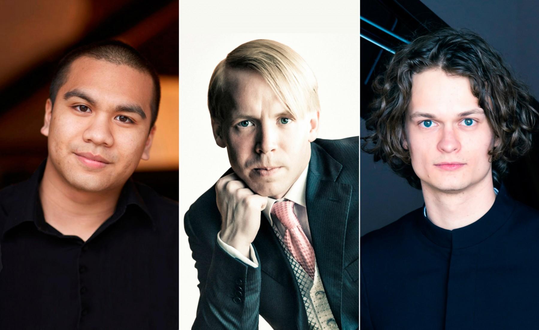 Gustav Piekut (photo McKenzie) Emil Gryesten Jensen (photo McKenzie) og Jonathan Siahaan