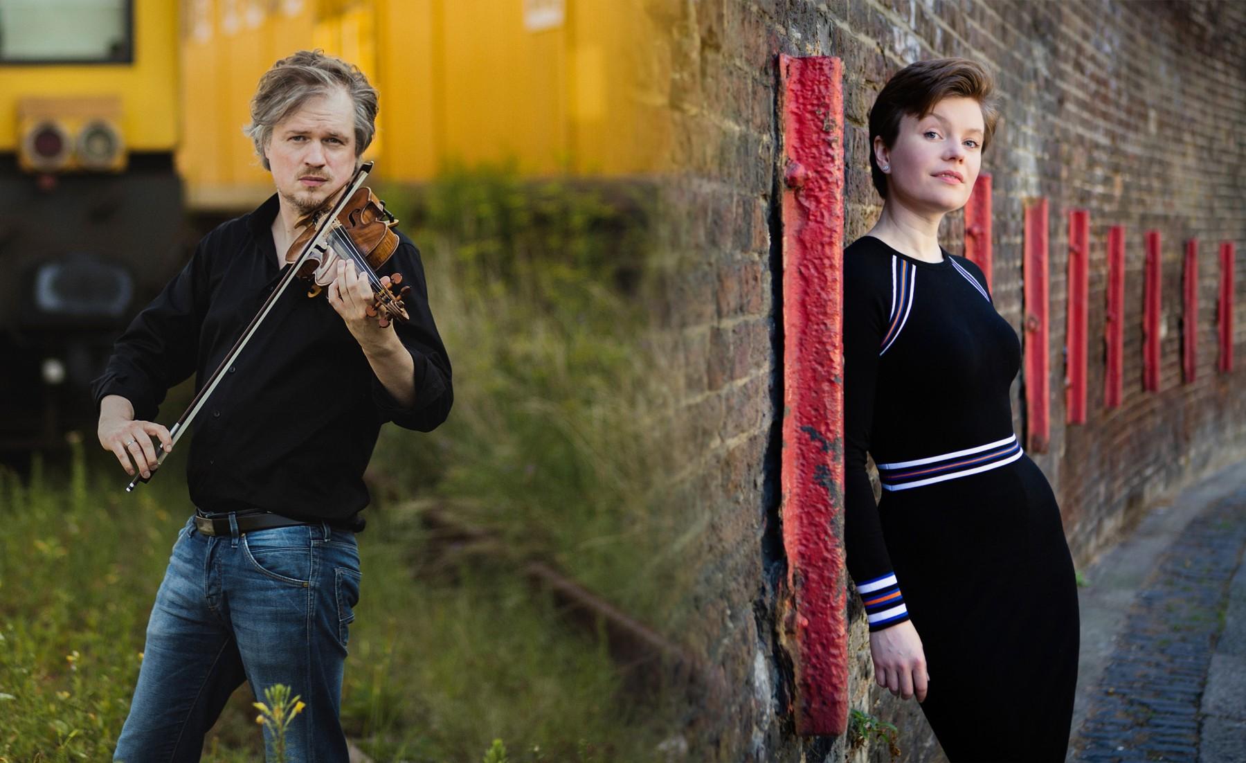 Henning Kraggerud og Clare Hammond 2019