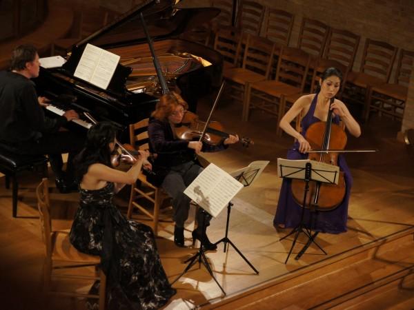 Trio con Brio Copenhagen og Tatjana Masurenko, bratsch